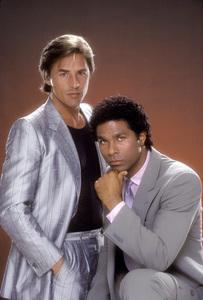 """""""Miami Vice""""Don Johnson, Philip Michael Thomas1984 © 1984 Mario Casilli - Image 5354_0035"""