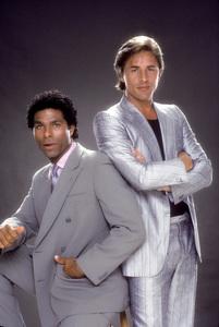 """""""Miami Vice""""Philip Michael Thomas, Don Johnson1984 © 1984 Mario Casilli - Image 5354_0051"""
