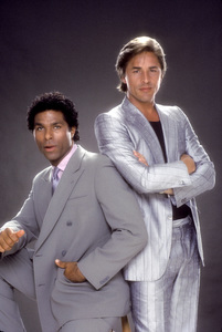 """Miami Vice""Philip Michael Thomas, Don Johnson1984 © 1984 Mario Casilli - Image 5354_0051"