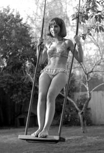 Barbara Eden at home, c. 1966 © 1978 Chester Maydole - Image 5357_0199