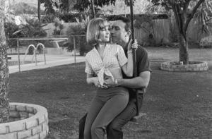 Barbara Eden& husband Michael AnsaraCirca 1964 © 1978 Kim Maydole Lynch - Image 5357_0214