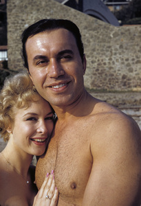 Barbara Eden and Michael Ansara1958© 1978 Gunther - Image 5357_0233