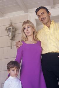 Barbara Eden and Michael Ansara with their son, Matthew1970© 1978 Gunther - Image 5357_0235