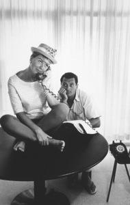 "Doris Day, Rock Hudson""Pillow Talk"" 1959 UniversalPhoto by Bob Willoughby - Image 5360_0004"
