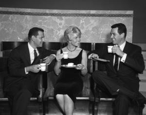 """Pillow Talk""Rock Hudson, Doris Day, Tony Randall1959 Universal Pictures** I.V. - Image 5360_0015"