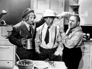 """""""Thre Stooges""""Larry, Moe and Curlyc. 1940 - Image 5368_0032"""