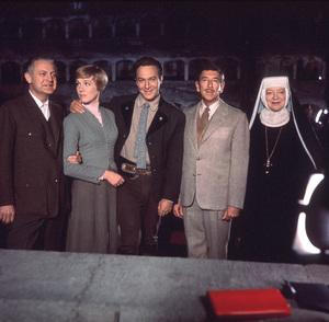 """The Sound of Music"" Robert Wise, Julie Andrews,Christopher Plummer, Richard Haydn, Peggy Wood1965 20th / **I.V. - Image 5370_0143"