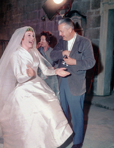 """""""The Sound of Music""""Director Robert Wise, Julie Andrews1965 20th Century Fox** I.V. - Image 5370_0162"""