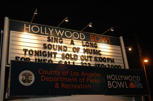"""""""The Sound of Music"""" sing-a-long2005 / Hollywood Bowl / Hollywood, CA / Photo by Jon Didier - Image 5370_0199"""