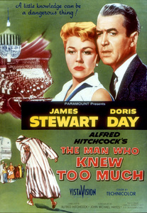 """""""Man Who Knew Too Much, The""""Color Poster.1956Paramount - Image 5372_0006"""
