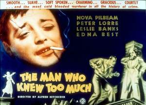 """""""Man Who Knew Too Much, The""""Color Poster1934Gaumont British - Image 5372_0007"""
