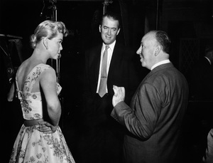 """""""The Man Who Knew Too Much""""Doris Day, James Stewart, director Alfred Hitchcock1956 Paramount Pictures** I.V. - Image 5372_0043"""