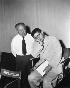 """""""The Man Who Knew Too Much"""" Director Alfred Hitchcock, composer Bernard Herrmann1956 Paramount Pictures** I.V. - Image 5372_0048"""