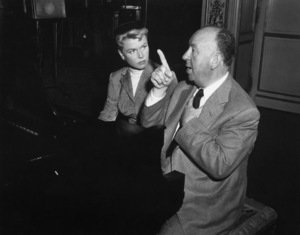 """""""The Man Who Knew Too Much"""" Doris Day, director Alfred Hitchcock1956 Paramount Pictures** I.V. - Image 5372_0058"""