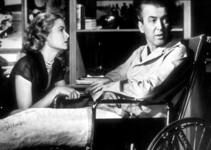 """Rear Window,"" Grace Kelly and James Stewart.1954 Paramount - Image 5375_0002"