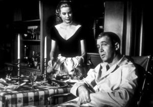 """""""Rear Window,"""" Grace Kelly and James Stewart.1954 Paramount - Image 5375_0003"""
