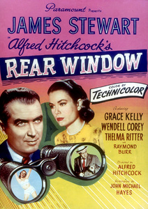 """""""Rear Window,"""" Color Poster1954 Paramount - Image 5375_0007"""