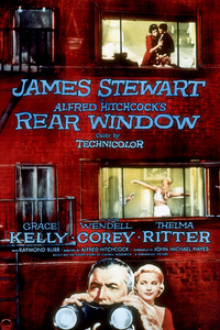 """""""Rear Window,"""" Color Poster1954 Paramount - Image 5375_0008"""