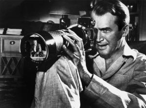 """Rear Window""Raymond Burr, James Stewart1954 Universal Pictures - Image 5375_0016"