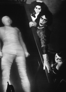 Patricia Quinn, Tim Curry, Nell CampbellFilm SetRocky Horror Picture Show, The (1975) © 1978 John Jay20th - Image 5376_0017