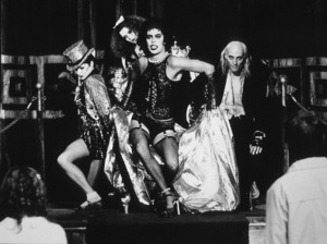 Nell Campbell, Patricia Quinn, Tim Curry, Richard O