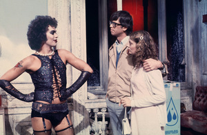 """""""Rocky Horror Picture Show, The""""Tim Curry, Barry Bostick, Susan Sarandon1975 20thPhoto by John Jay / **I.V. - Image 5376_0091"""