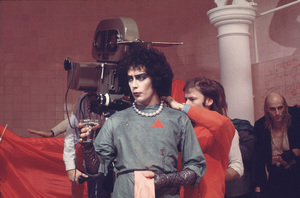 """""""Rocky Horror Picture Show, The""""Tim Curry, Dir. Jim Sharman on the set1975 20thPhoto by John Jay / **I.V. - Image 5376_0097"""