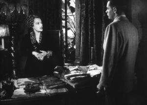 """Sunset Boulevard"" Gloria Swanson and William Holden 1950 Paramount - Image 5378_0004"