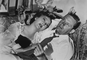 """Sunset Boulevard""Gloria Swanson and William Holden1949 Paramount / MPTV - Image 5378_0020"