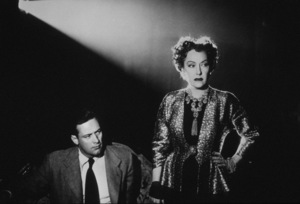 """Sunset Boulevard""Gloria Swanson and William Holden1949/ParamountMPTV - Image 5378_0024"