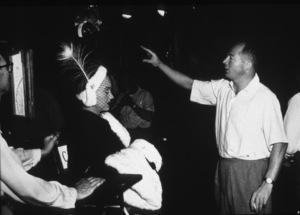 """Sunset Boulevard""Gloria Swanson and Dir. Billy Wilder1950 Paramount / MPTV - Image 5378_0120"