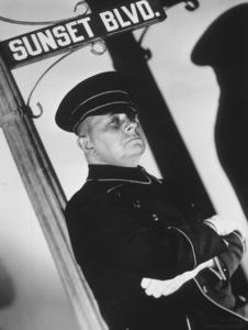 """Sunset Boulevard""Eric Von Stroheim1950 Paramount**I.V. - Image 5378_0131"