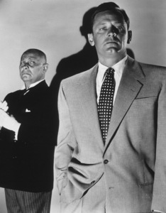 """Sunset Boulevard"" Eric VonStroheim and William Holden1950 Paramount**I.V. - Image 5378_0133"