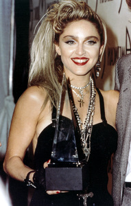 """Madonna at """"The 12th Annual American Music Awards"""" on January 28, 1985 - Image 5384_0021"""