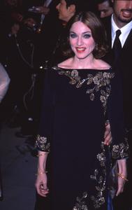 Madonna at a Vanity Fair party,3/21/99. © 1999 Glenn Weiner - Image 5384_0028