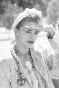 Madonna attending a Celebrity Anti-War MarchOctober 6, 1985 © 1985 Gunther - Image 5384_0030