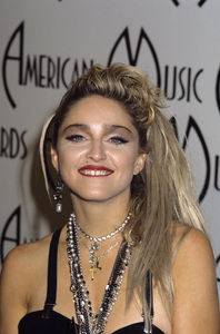 """Madonna at """"The 12th Annual American Music Awards""""1985 © 1985 Gary Lewis - Image 5384_0049"""