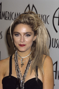 """Madonna at """"The 12th Annual American Music Awards""""1985 © 1985 Gary Lewis - Image 5384_0050"""