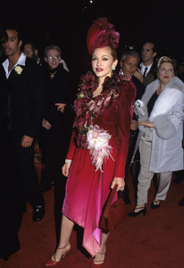 """Madonna at the premiere of """"Evita""""1996 © 1996 Gary Lewis - Image 5384_0053"""