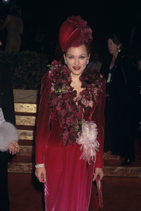 """Madonna at the premiere of """"Evita""""1996 © 1996 Gary Lewis - Image 5384_0056"""
