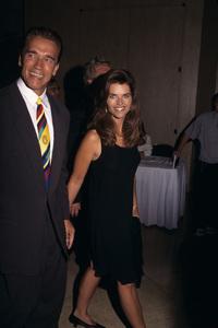 Arnold Schwarzenegger and Maria Shrivercirca 1990s © 1990 Gary Lewis - Image 5389_0061