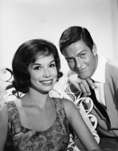 """The Dick Van Dyke Show"" Dick Van Dyke, Mary Tyler Moore 1961 Photo by Gabi Rona"