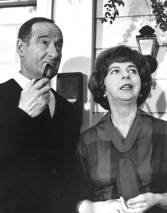 """Bewitched""George Tobias and Alice Pearcec. 1965 ABC**I.V. - Image 5406_0067"