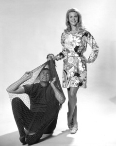 """Bewitched""Elizabeth Montgomery and Dick Sargentc. 1966 ABC**I.V. - Image 5406_0078"