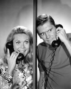 """""""Bewitched""""Elizabeth Montgomery and Dick Yorkc. 1966 ABC**I.V. - Image 5406_0084"""