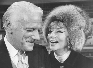 """""""Bewitched""""Agnes Moorehead and Murray Matheson1969**I.V. - Image 5406_0095"""