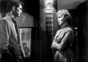 """""""Psycho,""""Anthony Perkins and Janet Leigh. © 1960 Paramount - Image 5408_0004"""