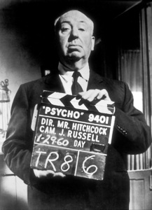 """""""Psycho,""""Director Alfred Hitchcock1960 Paramount - Image 5408_0021"""
