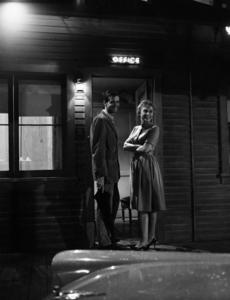 """Psycho""Janet Leigh & John Galvin1960 ParamountPhoto by William Creamer**I.V. - Image 5408_0038"