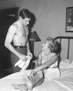 """Psycho""Janet Leigh & John Galvin1960 ParamountPhoto by William Creamer**I.V. - Image 5408_0040"